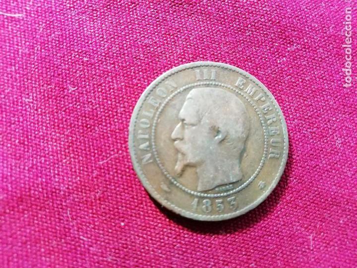 FRANCIA. BUEN 10 CENTIMES DE 1853 (Numismática - Extranjeras - Europa)