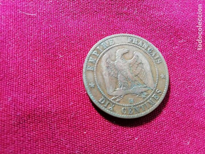 Monedas antiguas de Europa: Francia. Buen 10 centimes de 1853 - Foto 2 - 135162366
