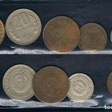 Monedas antiguas de Europa: UNA MONEDA DE LA ANTIGUA YUGOSLAVIA MAS 4 CREO QUE ES RUSIA VER. Lote 135168906