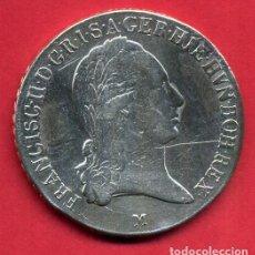 Monedas antiguas de Europa: MONEDA PLATA , AUSTRIA , CORONA FRANCISC II , M , 1796 , MBC+ , ORIGINAL , B21. Lote 135686647