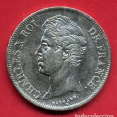 Monedas antiguas de Europa: MONEDA PLATA , FRANCIA , 5 FRANCOS FRANCESES 1827 , CHARLES X , CARLOS X , MBC++ , ORIGINAL , B21. Lote 135687383