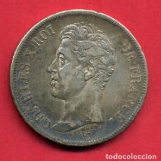 Monedas antiguas de Europa: MONEDA PLATA , FRANCIA , 5 FRANCOS FRANCESES 1826 , CHARLES X , CARLOS X , MBC+ , ORIGINAL , B21. Lote 135687775