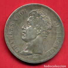 Monedas antiguas de Europa: MONEDA PLATA , FRANCIA , 5 FRANCOS FRANCESES 1825 , CHARLES X , CARLOS X , MBC+ , ORIGINAL , B21. Lote 135689875