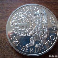 Monedas antiguas de Europa: 10 MARK (MARCOS) ALEMANIA 1987 J PLATA . Lote 135730831