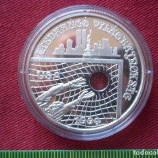 Monedas antiguas de Europa: 1000 FORINT HUNGRIA 1994 PLATA 925 31GR CON SERTIFICADO . Lote 135794390