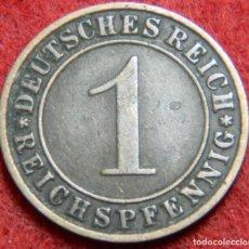 Alte Münzen aus Europa - Alemania – Germany – 1 Reichspfennig – 1929 A – Deutsches Reich – Krause #Km 37 - 135931614