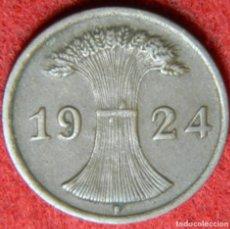 Alte Münzen aus Europa - Alemania – Germany – 2 Rentenpfennig – 1924 F – Deutsches Reich – Krause #Km 38 - 135933238