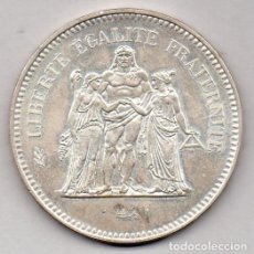Monedas antiguas de Europa: FRANCIA 50 FRANCOS 1974 PLATA. Lote 136161830
