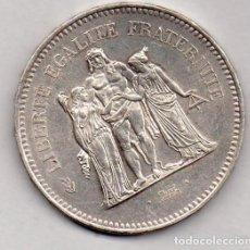 Monedas antiguas de Europa: FRANCIA 50 FRANCOS 1976 PLATA. Lote 136161886