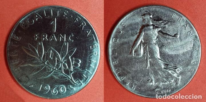 FRANCIA - 1 FRANC 1960 - KM# 925.1 (Numismática - Extranjeras - Europa)