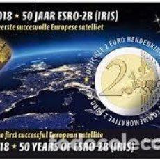 Alte Münzen aus Europa - Conmemorativa Belgica 2 euro Satelite 2018 - 136219234