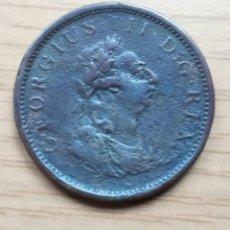 Monedas antiguas de Europa: IRLANDA 1 PENIQUE 1805. JORGE III. Lote 136335678