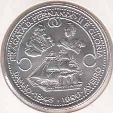 Monedas antiguas de Europa: PORTUGAL 1000 ESCUDOS PLATA 1996 FRAGATA D. FERNANDO II & GLÓRIA S/C. Lote 269588318