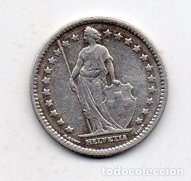 SUIZA. 1 FRANCO. AÑO 1928. PLATA. (Numismática - Extranjeras - Europa)