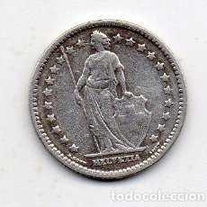 Monedas antiguas de Europa: SUIZA. 1 FRANCO. AÑO 1928. PLATA. . Lote 137317494