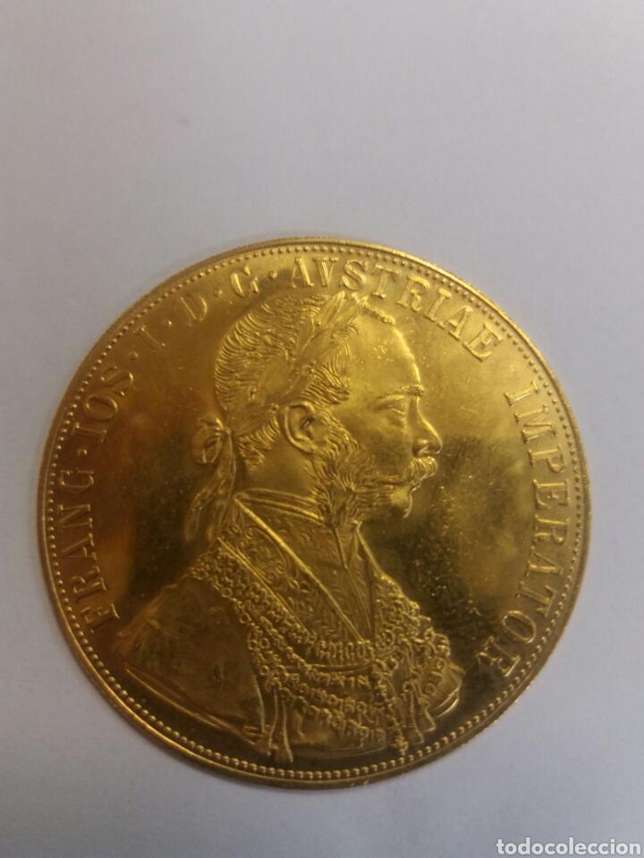 ANTIGUA MONEDA ORO PURO IMPERIO AUSTRÍACO 24 KT. (Numismática - Extranjeras - Europa)