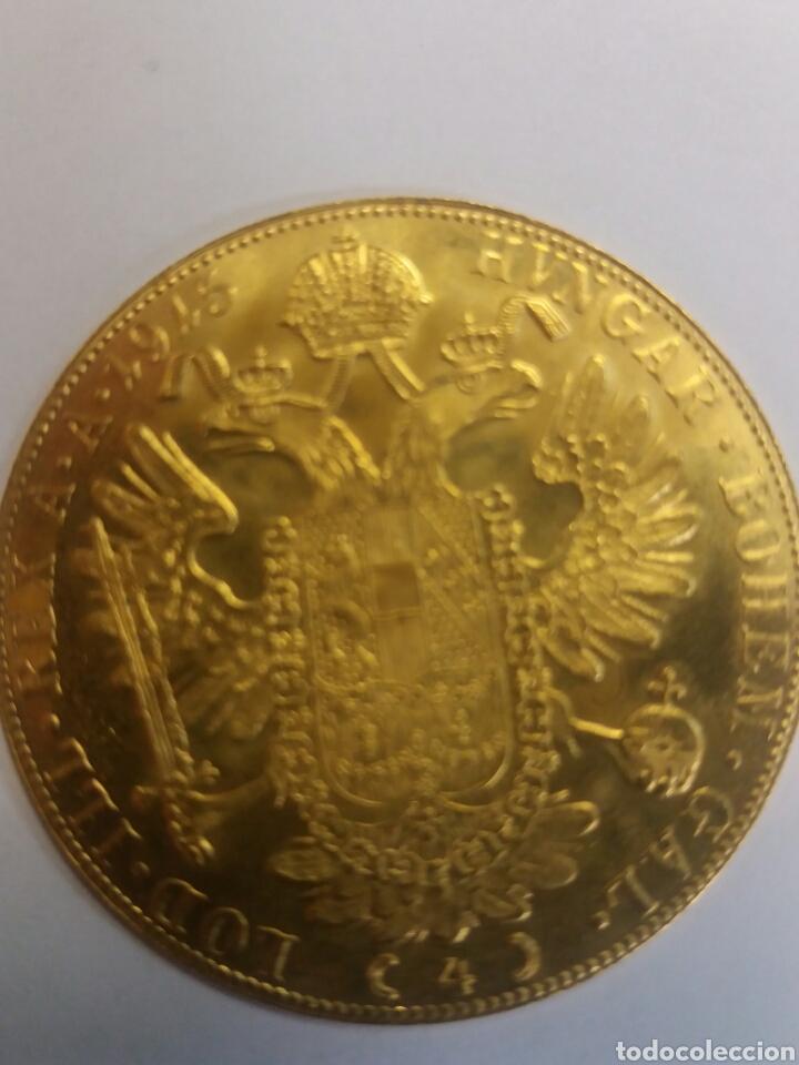 Monedas antiguas de Europa: ANTIGUA MONEDA ORO PURO IMPERIO AUSTRÍACO 24 KT. - Foto 2 - 137493466