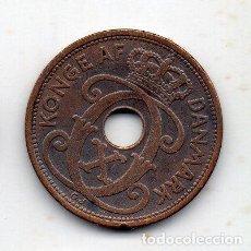 Monedas antiguas de Europa: DINAMARCA. 5 ORE. AÑO 1927.. Lote 137502922