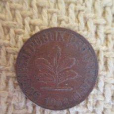 Monedas antiguas de Europa: MONEDA ALEMANIA 10 PFENNIG-PENIQUES 1968. Lote 137761038