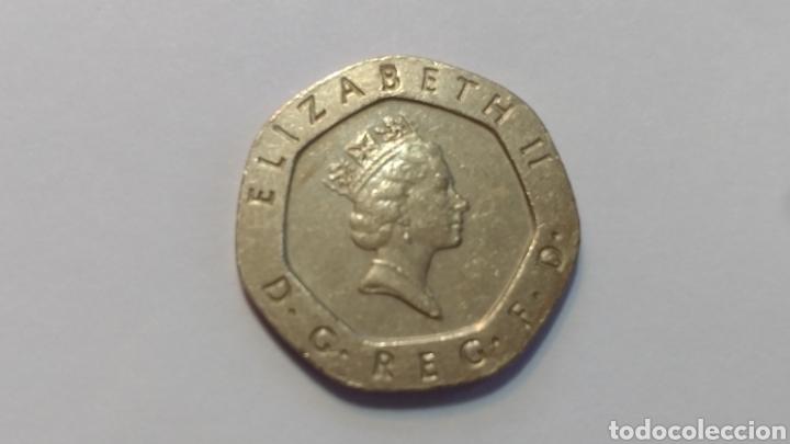 Gran Bretaña 20 Pence 1990 Reino Unido Inglater Comprar Monedas