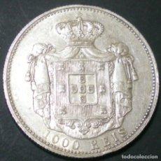 Monedas antiguas de Europa: 1.000 REIS PORTUGAL. REI CARLOS I. PLATA 0,917. EBC. SIN CIRC. . Lote 138696630