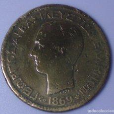 Monedas antiguas de Europa: 10 LEPTAS COBRE. GRECIA. REY JORGE I . AÑO 1.869. BEC.. Lote 138814842