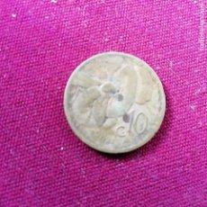 Monedas antiguas de Europa: ITALIA. 10 CENTESIMI DE 1921. Lote 138948906