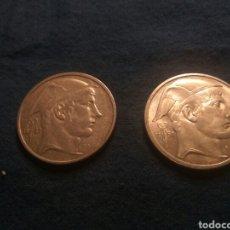 Monedas antiguas de Europa: LOTE DOS MONEDAS 50 FRANCOS 1951 PLATA. Lote 138985198