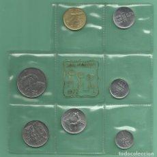 Monedas antiguas de Europa: SAN MARINO. 7 MONEDAS DE 7 VALORES DIFERENTES 1972. Lote 139742984