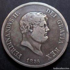 Monedas antiguas de Europa: ITALIA - NÁPOLES 120 GRANA 1856 FERNANDO II REY DE LAS DOS SICILIAS -PLATA-. Lote 139083178