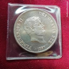 Monedas antiguas de Europa: ITALIA, SICILIA. EXCELENTE 120 GRANI DE PLATA DE 1857. Lote 139425662