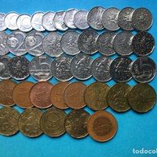 Monedas antiguas de Europa: G-20 ) R,CHEKA,,42 MONEDAS TODAS DISTINTAS FECHAS Y VALORES,, EN MUY BUEN ESTADO,,. Lote 139720546