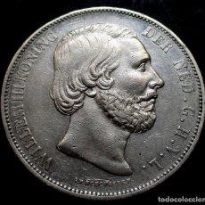 Monedas antiguas de Europa: PAISES BAJOS - HOLANDA 2 1/2 GULDEN 1873 GUILLERMO II -PLATA-. Lote 139834786
