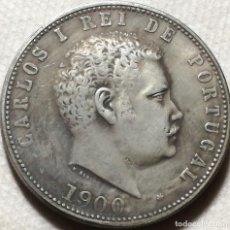 Monedas antiguas de Europa: RÉPLICA MONEDA 1000 REIS. 1900. REY CARLOS I. PORTUGAL. RARA. Lote 140312434