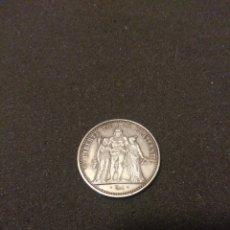 Monedas antiguas de Europa: 10 FRANCOS 1965 PLATA. Lote 140314082