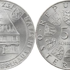 Monedas antiguas de Europa: AUSTRIA 50 SCHILLING (CHELINES) PLATA 1973 500 ANIV. CASA BUMMERL S/C. Lote 140529774