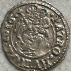 Monedas antiguas de Europa: MONEDA HUNGRÍA. REY MATÍAS II. 1 DINERO. 1616. PLATA. VIRGEN MARÍA CON NIÑO JESÚS. ORIGINAL. Lote 141453926