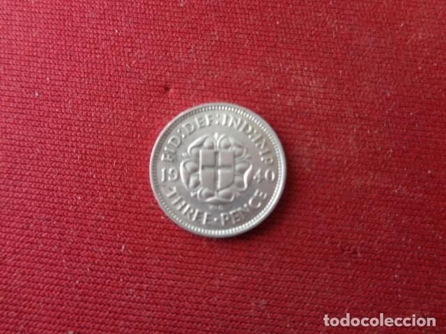 Reino Unido 2 Pence 1940 Plata Comprar Monedas Antiguas De