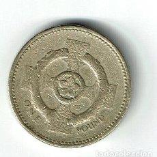 Monedas antiguas de Europa: GRAN BRETAÑA 1 POUND 1996 INGLATERRA REINO UNIDO. Lote 141808522