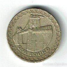 Monedas antiguas de Europa: GRAN BRETAÑA 1 POUND 2005 INGLATERRA REINO UNIDO. Lote 141808898