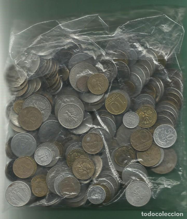 1 KILO DE MONEDAS DE POLONIA (Numismática - Extranjeras - Europa)