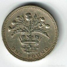 Monedas antiguas de Europa: GRAN BRETAÑA 1 POUND 1984 REINO UNIDO INGLATERRA . Lote 141920538