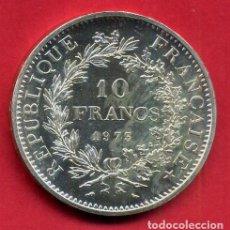 Monedas antiguas de Europa: MONEDA PLATA, FRANCIA , 10 FRANCOS 1973 RARA , EBC ,ORIGINAL , B25. Lote 141942594