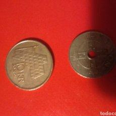 Monedas antiguas de Europa: 2 MONEDAS NORUEGA KORONAS. Lote 141966272