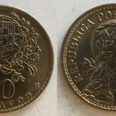 Monedas antiguas de Europa: PORTUGAL - 50 CENTAVOS, 1966 - KM# 577. Lote 142216622
