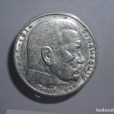 Monedas antiguas de Europa: MONEDA CIRCULADA DE 2 REICH MARK DE PLATA. 1938 A. MBC. Lote 151438180