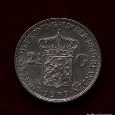 Monedas antiguas de Europa: 2 1/2 DE GULDEN 1939 PLATA PAISES BAJOS. Lote 142431430