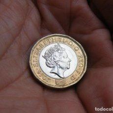 Monedas antiguas de Europa: INGLATERRA 1 LIBRA 2016. Lote 142450362