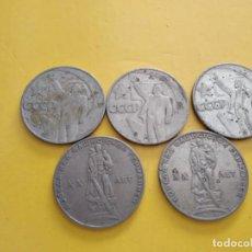 Monedas antiguas de Europa: ANTIGUOS RUBLOS DE SOVIET UNION (LOTE DE 5). Lote 142559130