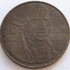 Monedas antiguas de Europa: AUSTRIA: 20 SCHILLING (CHELINES) DE 1982. 250 ANIVERSARIO DE JOSEPH HAYDN.. Lote 142577838